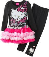 Hello Kitty frill dress & leggings set - girls 4-7
