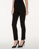 Le Château Stretch Cotton High Waist Crop Pant