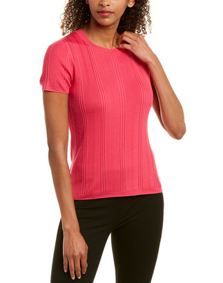 St. John Wool & Silk-Blend Top