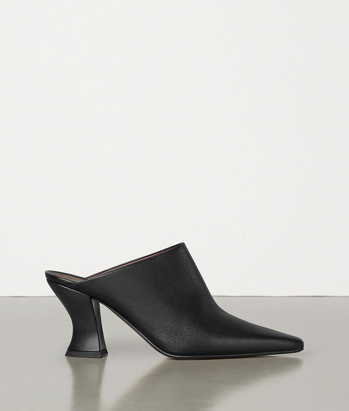Bottega Veneta ALMOND MULES IN NAPPA