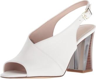 Nine West Women's MORENZO Leather Heeled Sandal