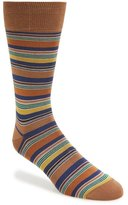 Bugatchi Big or Small Stripe Socks