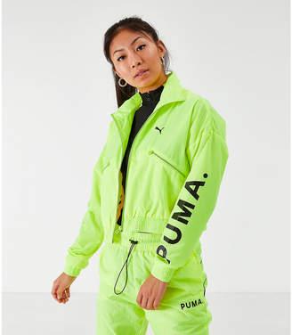 Puma Women's Chase Woven Jacket