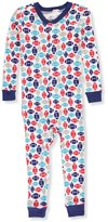Duck Duck Goose Little Boys' Toddler 1-Piece Pajama Suit