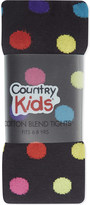 Country Kids Polka dot tights 6-8 years
