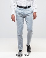 ONLY & SONS Skinny Suit Pant In Herringbone