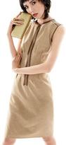 Magaschoni Front-Zip Dress