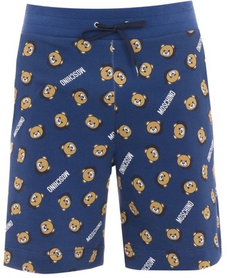Moschino Home Teddy Printed Shorts