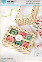 Martha Stewart Set Of 2 Cupcake Boxes Holds 6 - 12 Food Gift Storage Muffin