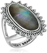 Lucky Brand Mother-Of-Pearl Statement Ring, Size 7