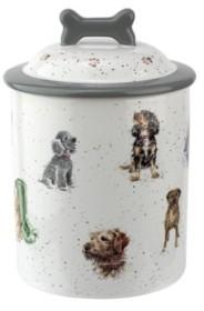 Royal Worcester Wrendale Treat Jar Assorted Dogs