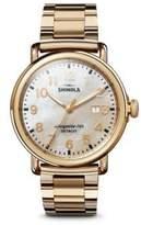 Shinola The Runwell Stainless Steel Bracelet Watch