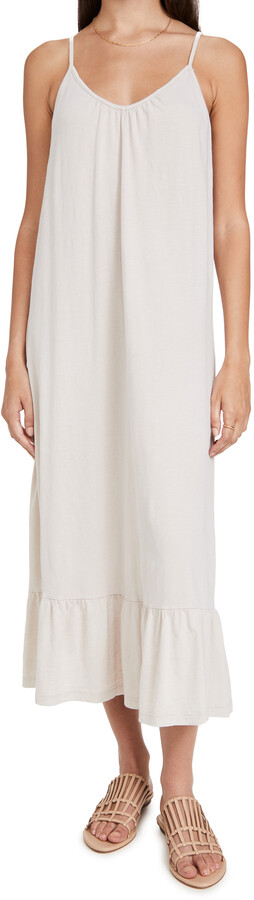 Thumbnail for your product : Sundry V Neck Strap Maxi Dress