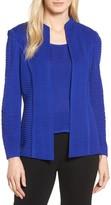 Ming Wang Women's Ripple Knit Jacket