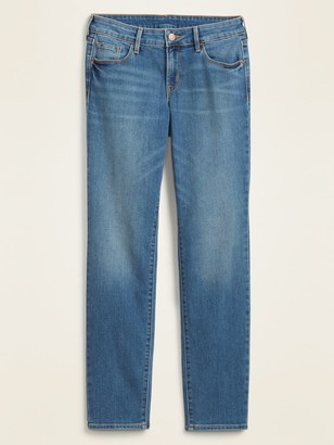 Old Navy Low-Rise Power Slim Straight Jeans for Women