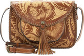 Patricia Nash Cuban Carved Beaumont Flap Small Crossbody