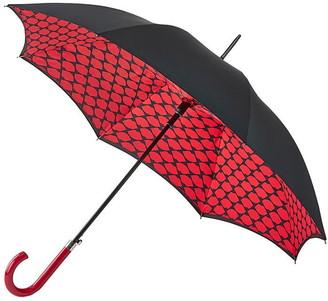 Lulu Guinness Lips Grid Bloomsbury Umbrella