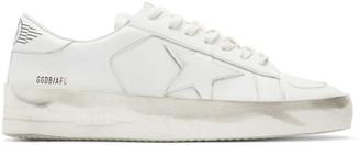 Golden Goose White Stardan Star Sneakers