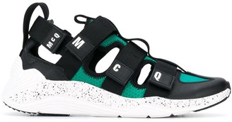McQ Touch-Strap Low-Top Sneakers