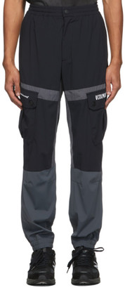 Colmar by White Mountaineering Black and Grey Econyl Cargo Pants