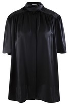 Balenciaga Short-sleeved silk shirt
