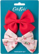 Cath Kidston Ballerina Rose Kids Hair Bows 2Pk