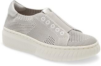 Sofft Payton Knit Platform Slip-On Sneaker