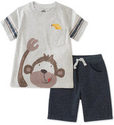 Kids Headquarters 2-Pc. Graphic-Print T-Shirt & Shorts Set, Baby Boys (0-24 months)