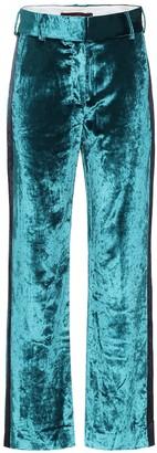 Sies Marjan Sonya high-rise velvet pants