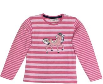 Salt&Pepper Salt and Pepper Girl's Longsleeve Wonderful Stripes T-Shirt