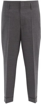 7 Moncler Fragment - Tailored Wool Trousers - Grey