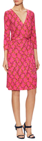 Diane von Furstenberg New Julian Silk Printed Dress