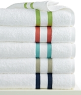 "Kassatex CLOSEOUT! Mayfair Stripe 13"" x 13"" Washcloth"