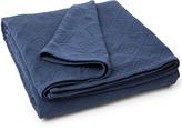Lexington Company Lexington Geometric Cotton Bedspread Blue 260x240cm