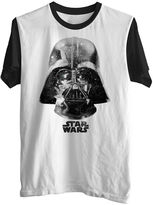 Star Wars STARWARS Darth Vadar Space Face Graphic Tee
