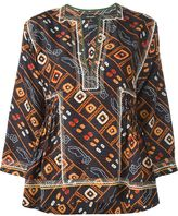 Isabel Marant 'Topaz' top - women - Silk/Cotton/Viscose - 40