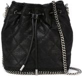 Stella McCartney small Falabella bucket bag - women - Polyester/Metal (Other) - One Size
