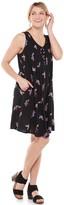 Sonoma Goods For Life Women's SONOMA Goods for Life Pintuck Sleeveless Dress