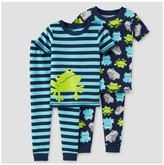 Just One You® made by Carter Toddler Boys' 4-Piece Snug Fit Cotton Pajamas Frogs - Just One You Made by Carter's®