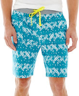 JCPenney NOVELTY SEASON North Shore Knit Shorts