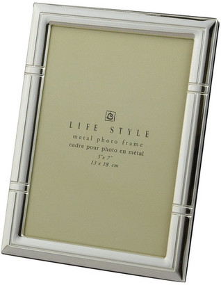 Leeber Ltd Elegance Silver Plated Reed Life Style Metal Photo Frame, 5x7