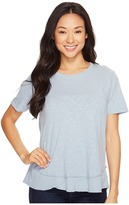 Dylan by True Grit Crew Neck Short Sleeve Tee