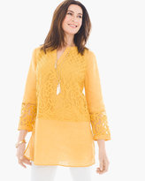 Chico's Linen Lace Tunic