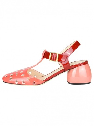 Anya Hindmarch Pink Leather Sandals