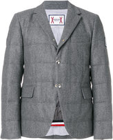 Moncler Gamme Bleu buttoned blazer - men - Cotton/Wool - 1