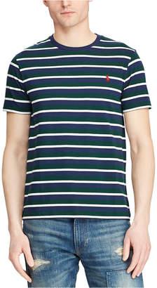 Polo Ralph Lauren Men Classic Fit Striped Cotton T-Shirt