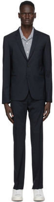 Paul Smith Navy Wool Besom Suit