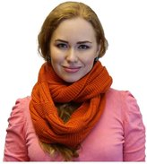 Karen Studio Womens Winter Warm Knit Infinity Scarf