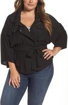 Melissa McCarthy Plus Size Women's Utility Jacket