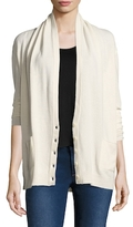 Inhabit Cashmere Shawl Collar Cardigan
